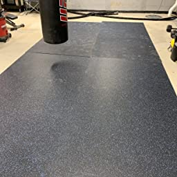 Gym Rubber Flooring 20/% American Floor Mats 3//8in Protective Exercise Mats 9mm Thick 20/% Brown//Tan 4 x 12 Hi-Color Rubber Rolls
