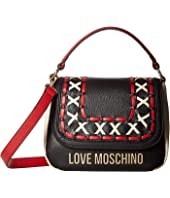 LOVE Moschino - Leather Color Block Handbag