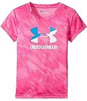 Under Armour Kids - Oasis Split Logo Short Sleeve (Toddler)