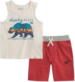 Lucky Brand Baby Boys Tank Top Shorts Set