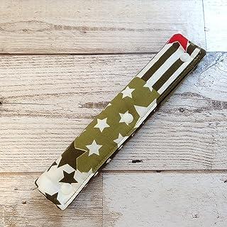 Jam's Ukulele TAU-844-4 / 水筒肩紐カバー 男の子用 女の子用 星 学校用品 ハンドメイド 手作り プレゼント
