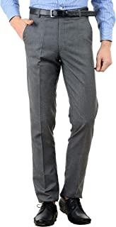 American-Elm Men's Slim Fit Formal Trousers