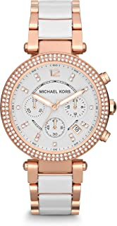 Women's Parker Rose Gold-Tone Watch MK5774