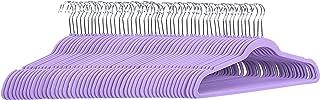 Amazon Basics Lot de 50cintres en velours pour costumes Violet