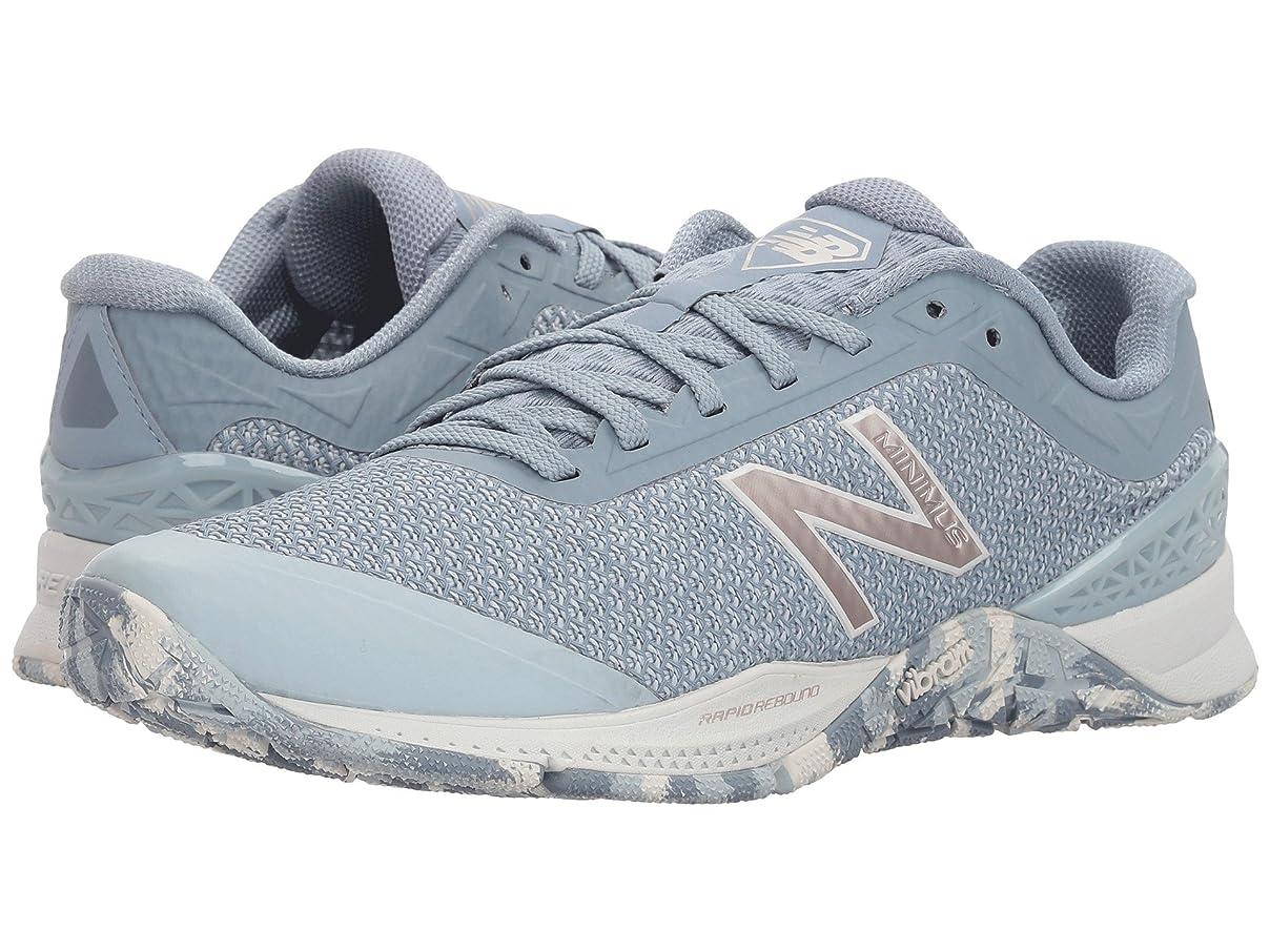 おんどりに妖精(ニューバランス) New Balance レディースランニングシューズ?スニーカー?靴 WX40v1 Light Porcelain Blue/Copper 7.5 (24.5cm) B - Medium