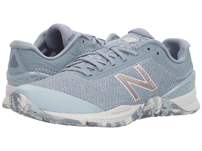 品種政権テセウス(ニューバランス) New Balance レディースランニングシューズ?スニーカー?靴 WX40v1 Light Porcelain Blue/Copper 6.5 (23.5cm) B - Medium