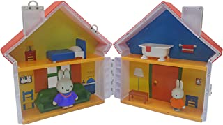 Miffy Figure–The House with 2Figures, mff05