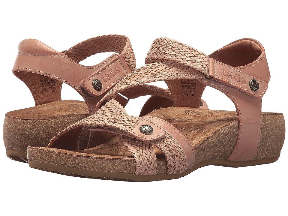 e475f06552c19 Taos Footwear Trulie (Blush) Women s Sandals