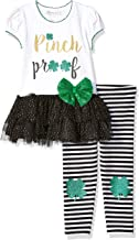Bonnie Jean Girls' Toddler St. Patrick's Day Pinch Proof Outfit