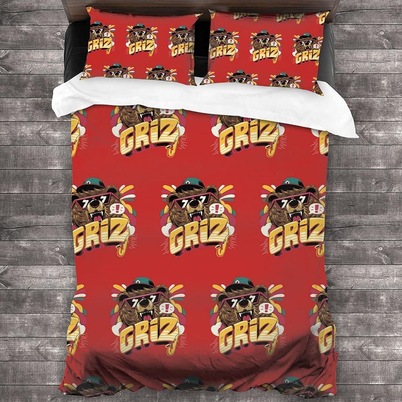 Fiuhsyct G-Riz 3 Super Max 84% OFF popular specialty store Pieces of Bedding Warm Fl Soft Set 86