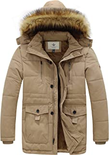 Men's Hooded Warm Coat Winter Parka Jacket