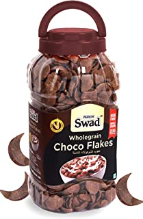 Swad Breakfast Cereal, Wholegrain Choco Flakes Jar, 350 gm
