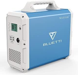 MAXOAK Portable Power Station BLUETTI EB150 1500Wh AC110V/1000W Camping Solar Generator..