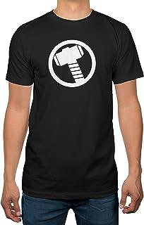 Marvel Avengers Thor Logo Mens Black T-Shirt