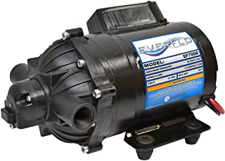 Everflo EF7000-BOX 7.0 GPM 12V Diaphragm Pump-1/2 FNPT Ports