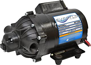 Everflo EF7000-BOX 7.0 GPM 12V Diaphragm Pump-1/2 FNPT Connection