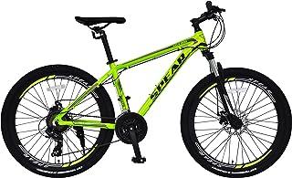 SPEAR (スペア) マウンテンバイク アルミフレーム シマノ製 21段変速 SPM-2621 適用身長160cm以上 男性 女性 初心者