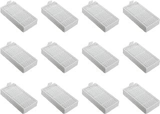 Nispira HEPA Replacement Filter Compatible with Ilife Model V3s V3s pro, V5, and V5s V5s Pro Robotic Vacuum Cleaner, 12 Packs