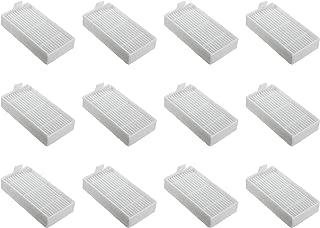 Nispira HEPA Replacement Filter Compatible Ilife Model V3s V3s pro, V5, and V5s V5s Pro Robotic Vacuum Cleaner, 12 Packs