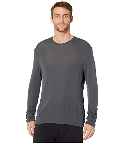 Icebreaker 175 Everyday Merino Base Layer Long Sleeve Crewe (Monsoon 1) Men