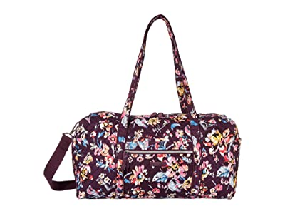 Vera Bradley Iconic Medium Travel Duffel (Indiana Rose) Duffel Bags