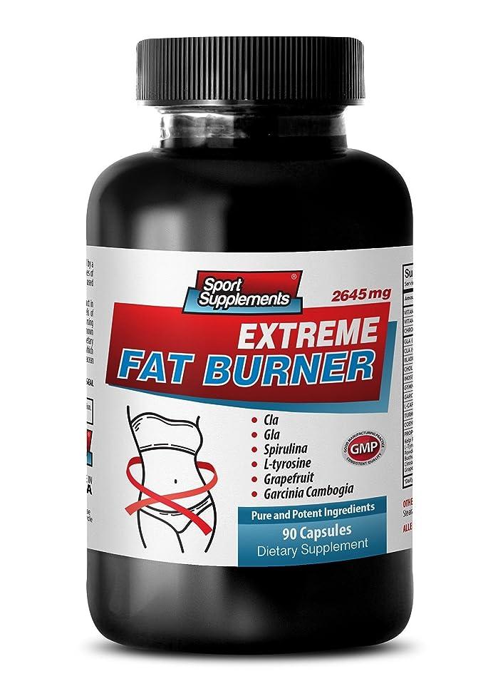 Fat loss body shaper - Fat loss night pills - EXTREME FAT BURNER - 2643MG - Cla evolution nutrition - Inositol capsules - 1 Bottle (90 Capsules)