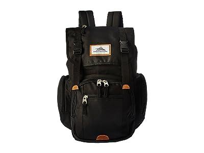 High Sierra Emmett 2 Backpack (Black) Backpack Bags