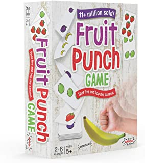 AMIGO Games Fruit Punch Kids Card Game with A Squeaky Banana!