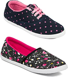 Asian Women Casual Shoes Combo Pack of 2-3012-W56