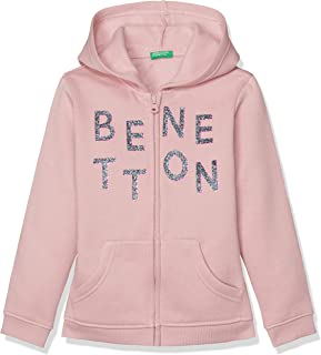 United Colors of Benetton Benetton Kış Sweatshirt Kız çocuk Kapüşonlu Sweatshirt