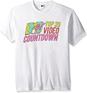 MTV Men's Top 20 Video Countdown Logo T-Shirt