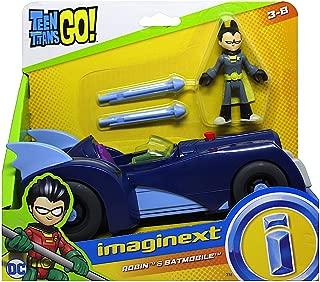 Imaginext Teen Titans Go Robin Figure & Batmobile