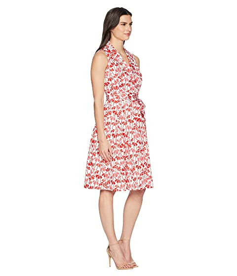Floral Flare Dress and Klein Anne Fit Cotton Bqwxf5n1