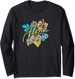 Aloha Mr. Hand THE ORIGINAL Long Sleeve T-Shirt
