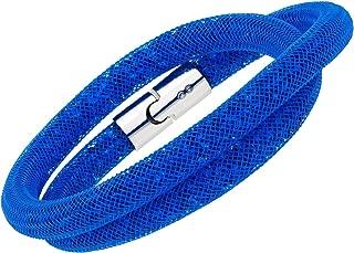 Swarovski Stardust Capri Blue Double Bracelet,
