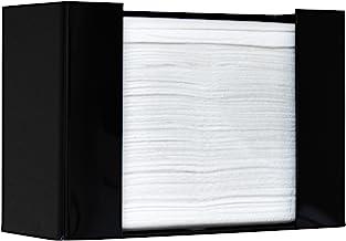 Paper Towel Dispenser by Oasis Creations, Holds 250 Paper Towels, Wall Mounted, Countertop Paper Towel Dispenser, Universa...