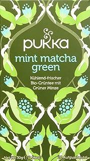 Pukka Bio-Tee Mint Matcha Green 80 Teebeutel, 4er Pack 4 x 20 beutel