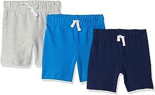 Amazon Essentials Baby Boys' Cotton Pull-On Shorts