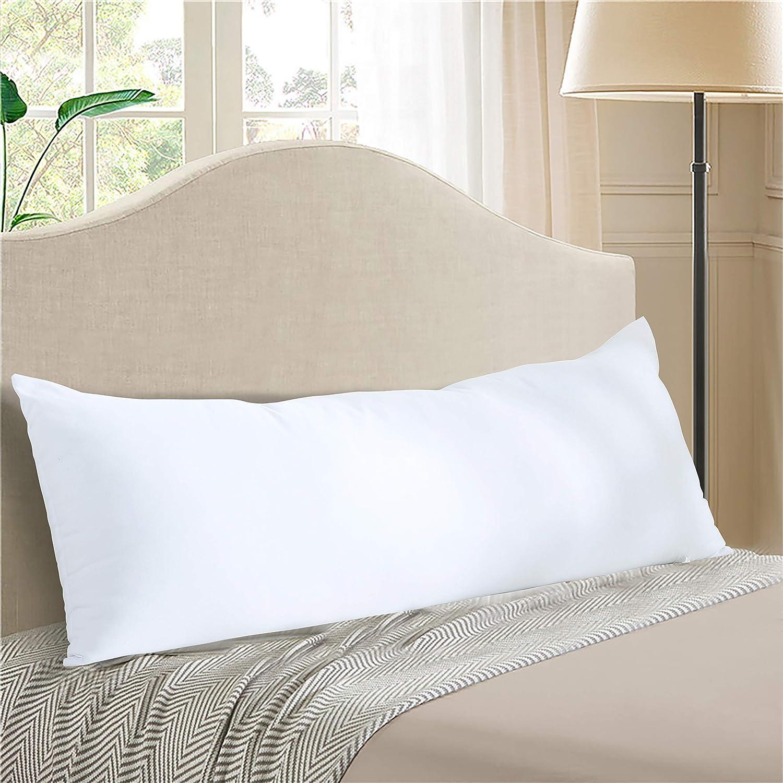 "Evolive Ultra Soft Microfiber 21""x54"" Long Body Pillow Pregnancy Pillow  (21""x54"" Body Pillow) : Home & Kitchen - Amazon.com"