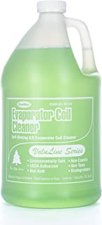 ComStar 90-910 Valuline Self-rinsing Neutral pH Evaporator Coil Cleaner, 1 gal Container, Green