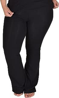 Women's Foldover Plus Size Yoga Pants