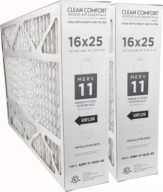 Clean Comfort AMP-11-1625-45 2-Pack - 16