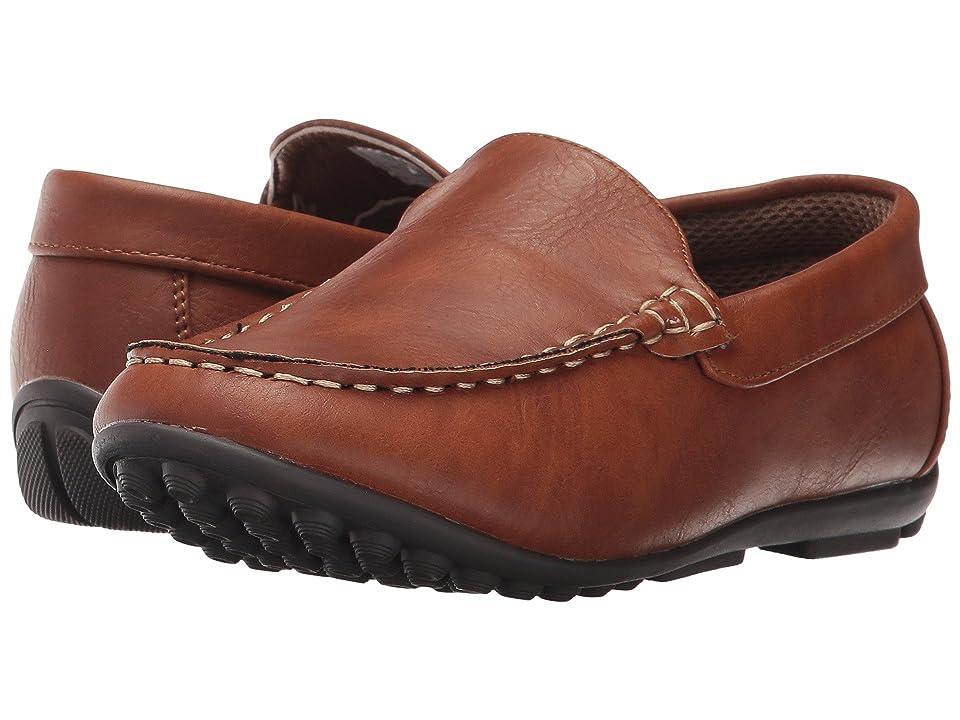 Steve Madden Kids Bcompton (Toddler/Little Kid/Big Kid) (Cognac) Boys Shoes