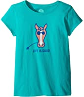 Life is Good Kids - Horse Crusher Tee (Little Kids/Big Kids)