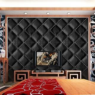 Realdo 3D Vintage Leather Textured 30040cm Wallpaper PVC Mural Realistic Look Waterproof TV Background Wall Paper
