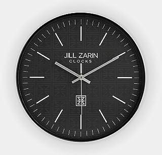 "JIll Zarin - 12"" Wall Clock - Modern Design Wall Clock with 12 Inch Face, Silent Battery Powered Clock with Quartz Accurac..."