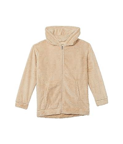 Roxy Kids Sunny Anyway Fleece Jacket (Little Kids/Big Kids) (Tapioca) Girl