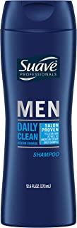 Suave Professionals Men Shampoo, Daily Clean Ocean Charge, 12.6 Fl Oz (Pack of 6)