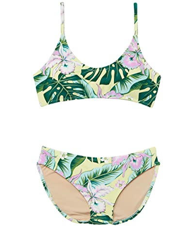 shade critters Tie Back Bikini Tropical Oasis (Little Kids/Big Kids)