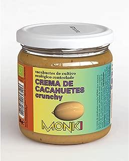 Crema de Cacahuete Crujiente Bio Monki, 330 g